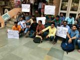 See Pics: ছাত্রীর যৌন হেনস্থা ঘটনায় উত্তাল JNU !