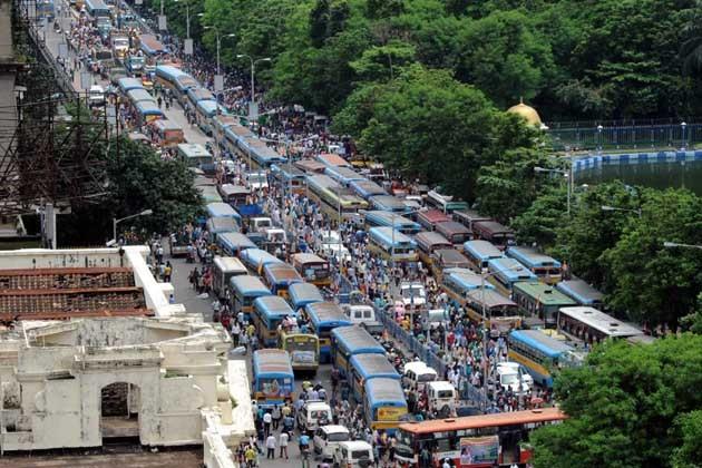 আগামীকাল স্তব্ধ হবে শহর কলকাতা
