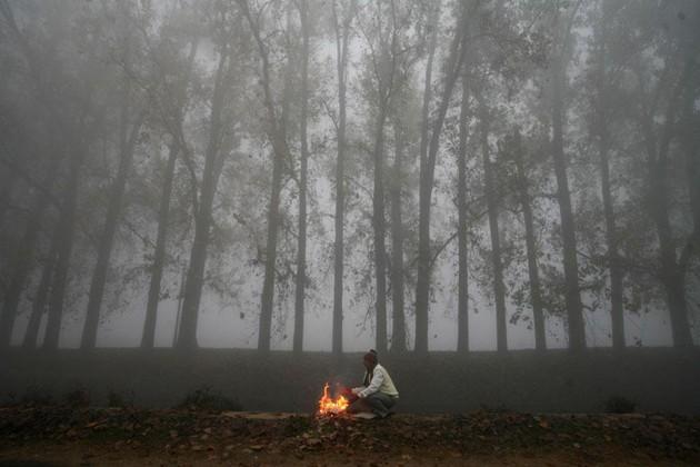 তীব্র ঠাণ্ডায় কাঁপছে উত্তর ভারত, দিল্লির তাপমাত্রা নামল ৩.৪ ডিগ্রিতে