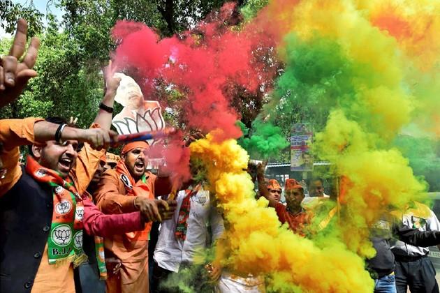 লখনউ-কানপুর-সাহারানপুর সর্বত্রই জয়জয়কার বিজেপির ৷ Photo : PTI