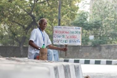 ভিখারিকে ভিক্ষা নয়, অদ্ভুত প্রতিবাদ বৃদ্ধের