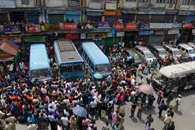 বনধ-এর প্রথমদিন ব্যর্থ মোর্চার কৌশল