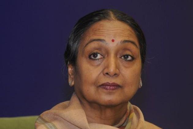 রাষ্ট্রপতি পদে UPA প্রার্থী মীরা কুমার