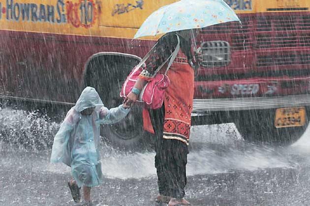বিকেলে কলকাতায় ঝড়-বৃষ্টির সম্ভাবনা