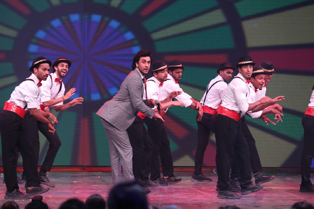 'Galti Se mistake..' dance performance by actor Ranbir Kapoor. (Photo: PTI )