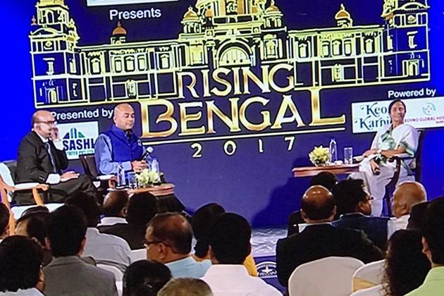 RisingBengal: 'আমি খুশি আমাকে টার্গেট করা হয়', রাইজিং বেঙ্গলের মঞ্চে মুখ্যমন্ত্রী মমতা বন্দ্যোপাধ্যায়