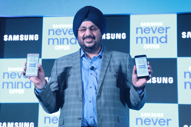 Mohandeep Singh, Senior Vice President, Mobile Business, Samsung India