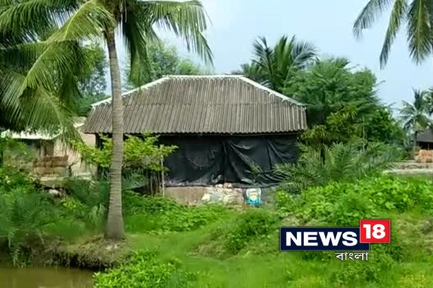 Sandeshkhali Rape Vitim house