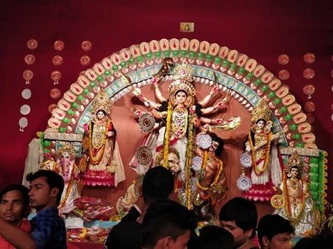 Delhi Puja Pandal