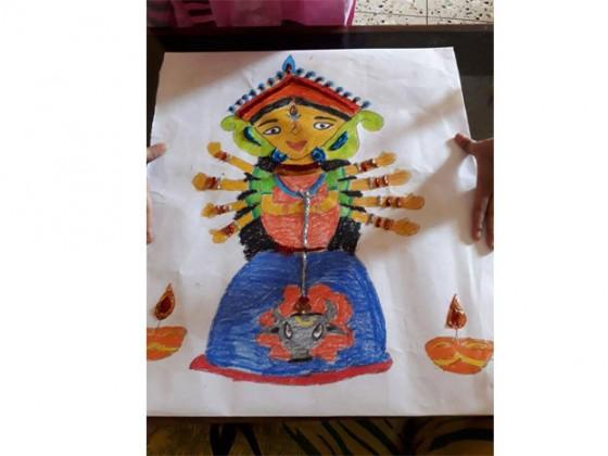 Aiswarya Banerjee, Age 8