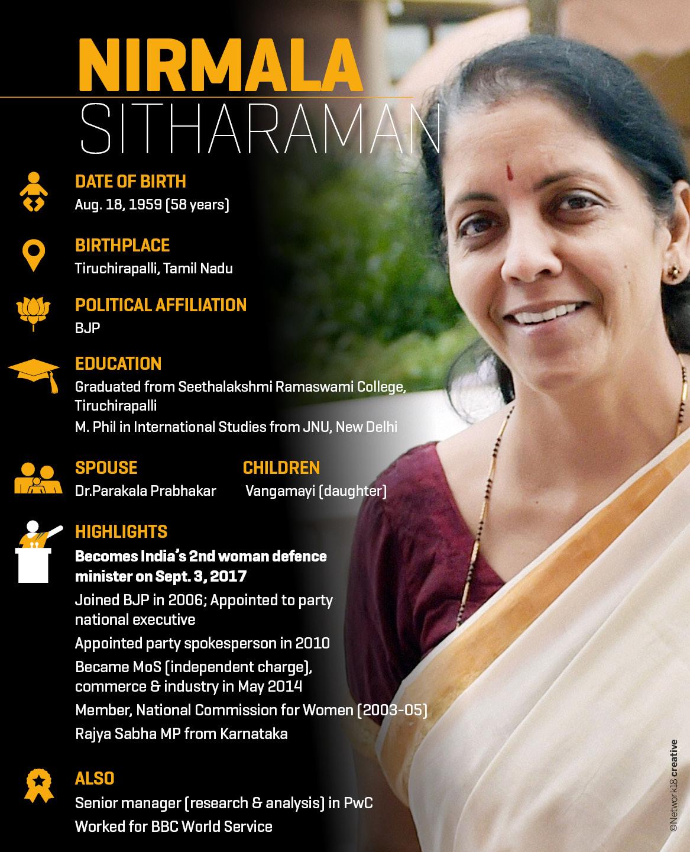 CV _ Nirmala Sitharaman
