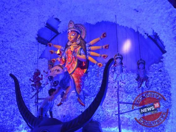 হাতিবাগান সর্বজনীন Photo taken by Rituparna Dutta
