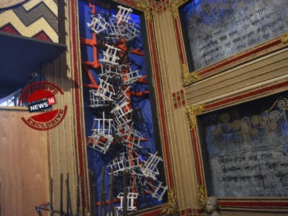 তৃতীয় কুমারটুলির নিজস্ব শিল্প সৃষ্টির কিছু ঝলক। এবং শেষ পর্বে সেই সব শিল্পীরা। যাদের হাতে গড়ে উঠেছে কুমারটুলি। ছবি: ঋতুপর্ণা দত্ত