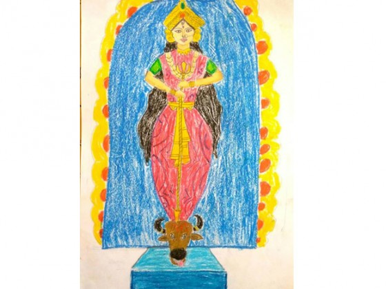 Shresta Chakraborty, age 8