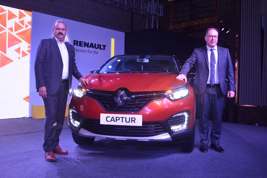 Renault Captur Unveiling in Kolkata