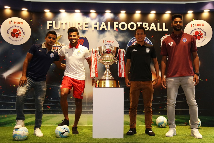 Hero ISL Media Day Kolkata 12th Nov