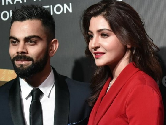 Virat and Anushka Look Picture Perfect