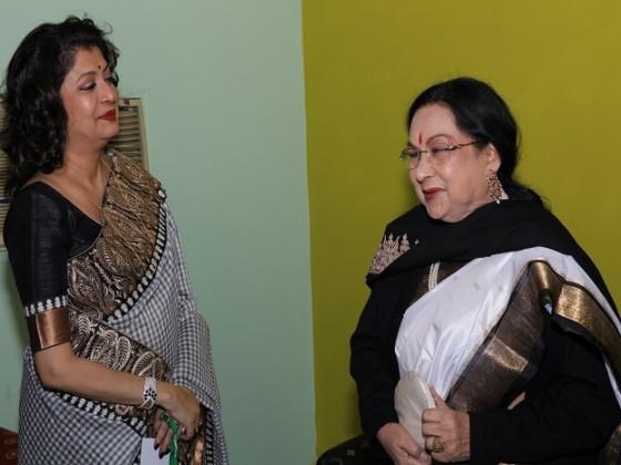 Debashree Roy and Sandhya Roy