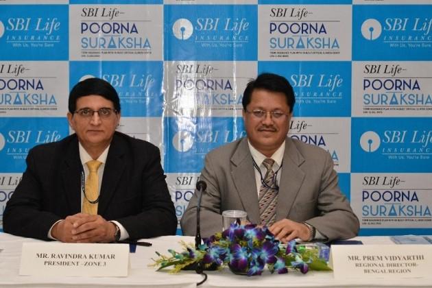 Ravindra Kumar (Left), President – Zone 3 and Prem Vidyarthi (Right), Regional Director Bengal Region SBI Life