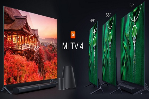 স্মার্ট ফোনের পাশাপাশি Xiaomi-র এবার নতুন উপহার MI TV4 স্মার্ট টিভি