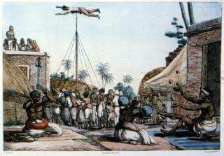 মাদাম বেলানস আর সলভিনসের আঁকা চড়কের ছবি