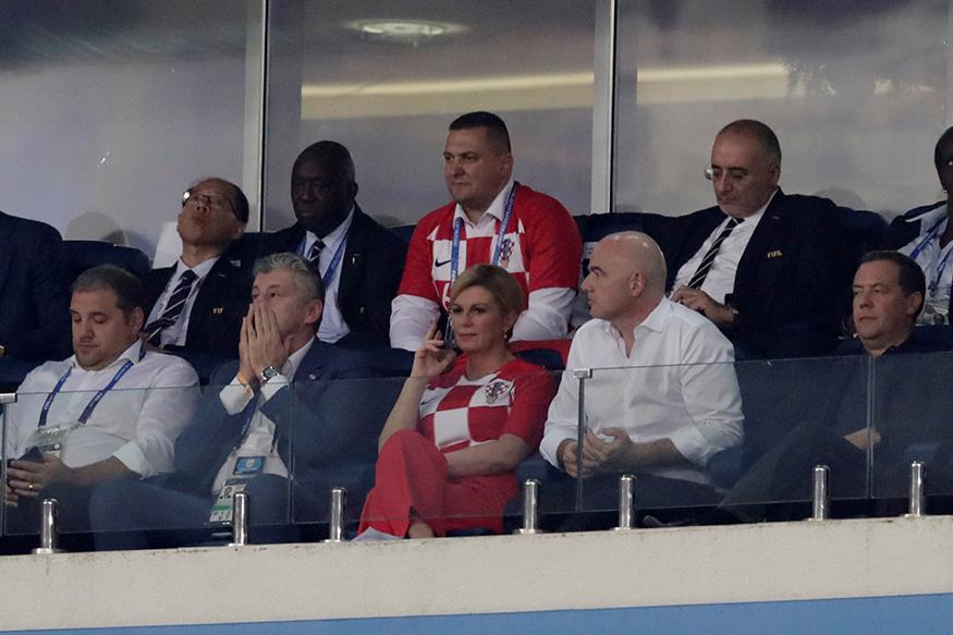 স্বপ্নের ফাইনালে উঠেছে ক্রোয়েশিয়া। বহু অপেক্ষার পর বিশ্বকাপ ফুটবলের ফাইনালে উঠার স্বপ্ন পুরণ করেছে ক্রোয়েটরা। (Photo: Reuters)