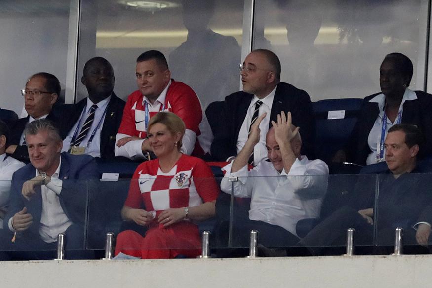 রাশিয়া বিশ্বকাপ ফুটবলে এই লজুনিকির মাঠেই ফাইনালে ক্রোয়েশিয়া এবং ফ্রান্স মুখোমুখি হবে।  (Photo: Reuters)
