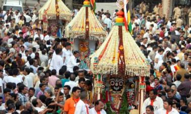 ভারতের দ্বিতীয় প্রাচীনতম রথযাত্রা আমেদাবাদের রথযাত্রা । ১৩০ বছরেরও বেশি পুরনো এই রথযাত্রা ।