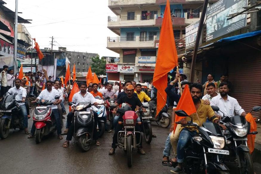 পুণেতে বাইক মিছিল। (Image: News18)