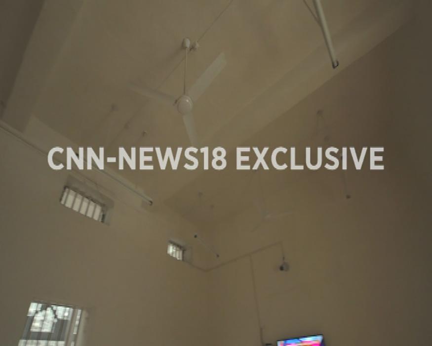 অর্থার রোডের ১২ নম্বর সেলের ছবি যেখানে বিজয় মালিয়াকে রাখা হবে (Image: CNN News18)
