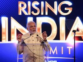See Pics: মোদি থেকে রাজনাথ, প্রভু থেকে স্মৃতি, রাইজিং ইন্ডিয়াতে রাজনীতির তারকারা
