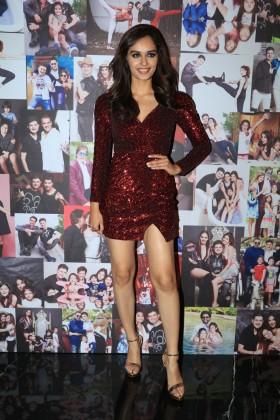 Miss World Manushi Chhillar poses for photographers during Dabboo Ratnani's 2018 calendar launch event at JW Marriott Hotel in Mumbai on January 17, 2018. (Image: Yogen Shah)