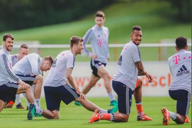 Photo Courtesy:  Bayern Munich /Twittter Handle