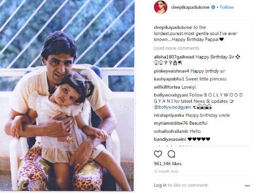Instagram/ Deepika Padukone