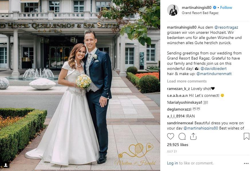 Photo - Martina Hingis/ Instagram Handle