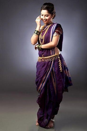 How-to-wear-Marathi-Saree