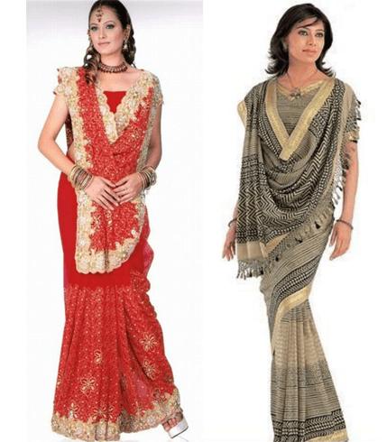 rajrani style saree