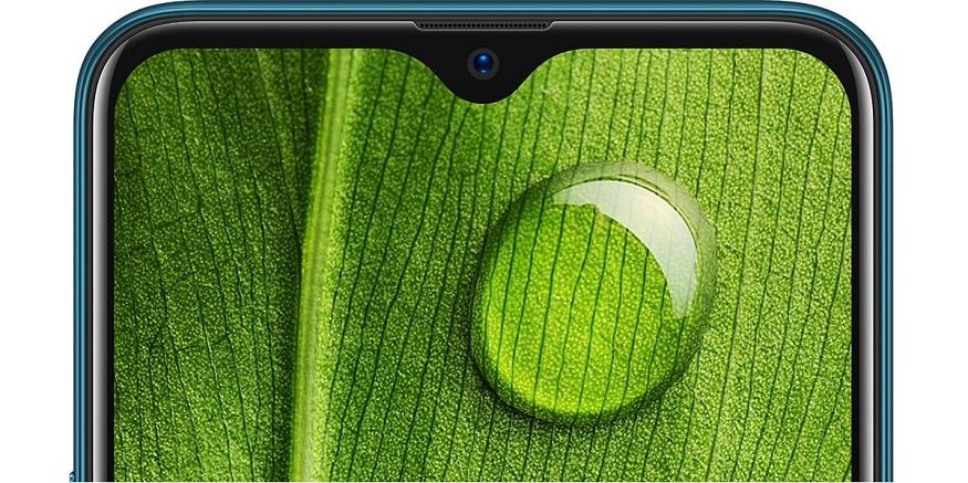 Oppo A7 ফোনে রয়েছে ওয়াটার ড্রপ নচ আর ফোনের পিছনে থাকছে ফিঙ্গারপ্রিন্ট সেন্সার। (Photo collected)