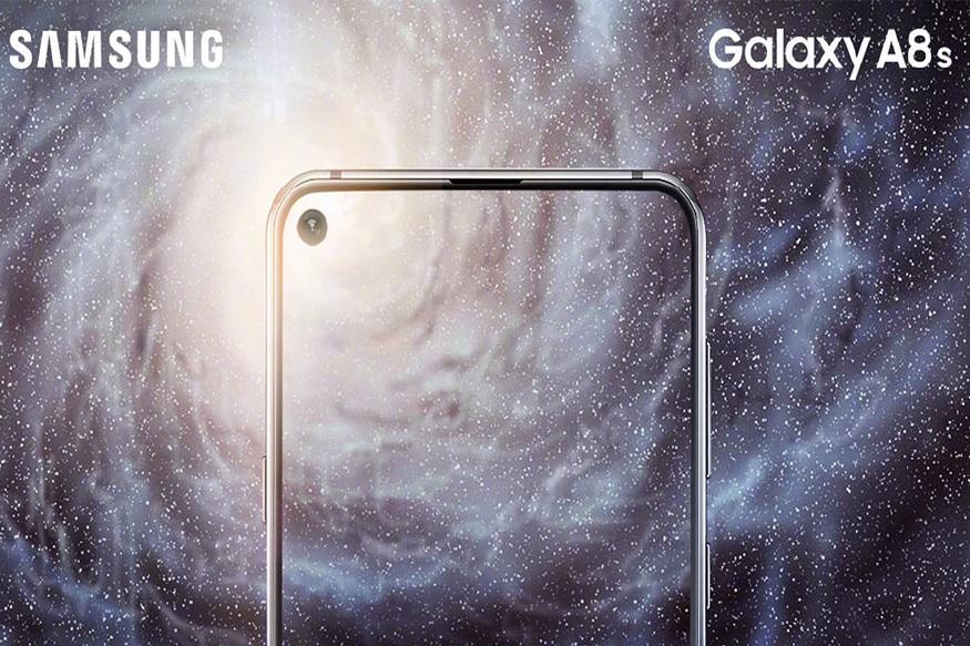 শিঘ্রই লঞ্চ হবে Samsung Galaxy A8s। সম্প্রতি প্রকাশিত এক ছবিতে ডিসপ্লের মধ্যে বৃত্তাকারে কাটা ডিসপ্লে দেখা গিয়েছে। (Photo collected)