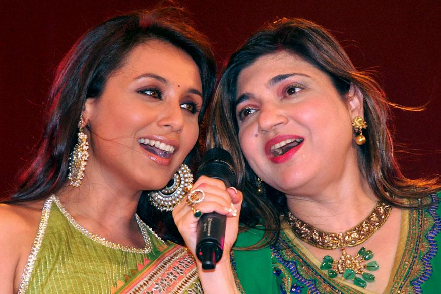 রানি মুখোপাধ্যায়ের সঙ্গে অলকা ইয়াগ্নিক (Photo: Reuters)