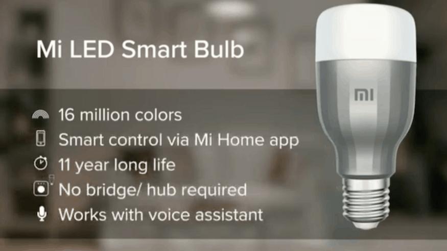 কোম্পানি জানিয়েছে 11 বছর চলবে এই স্মার্ট বাল্ব । এই বাল্বে থাকছে 16 মিলিয়ান কালার সাপোর্ট। Alexa ও Google Assistant এর সাথে কাজ Mi LED Smart Bulb।