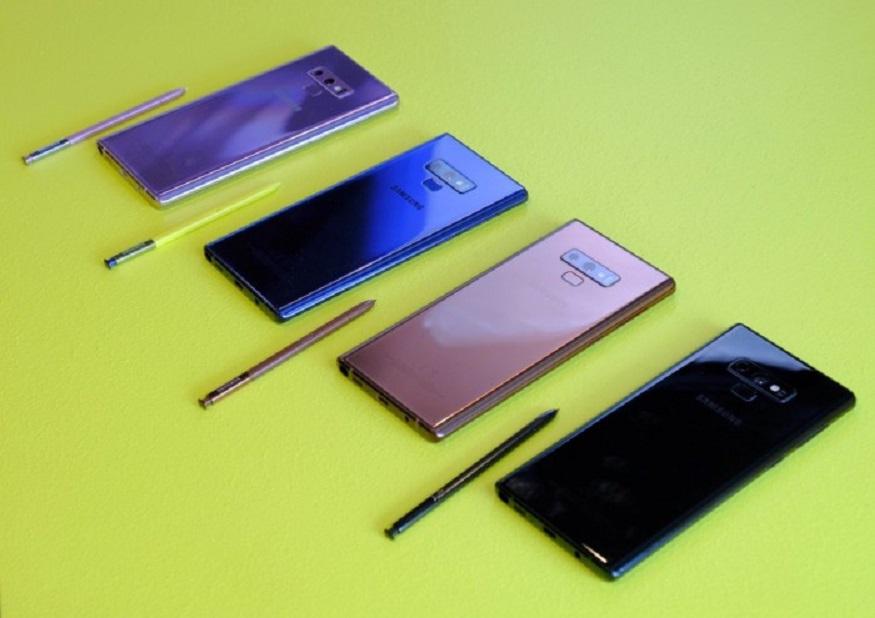 কানেক্টিভিটির জন্য Samsung Galaxy Note 9-এ রয়েছে  ডুয়াল  সিম,  4G VoLTE, Wi-Fi, Bluetooth 5.0, USB Type-C, NFC আর 3.5mm অডিও জ্যাক