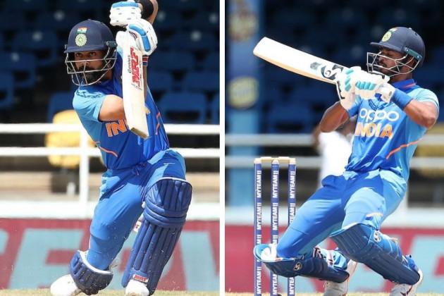 Ind vs WI : ঝকঝকে বিরাট-শ্রেয়স, ওয়েস্টইন্ডিজের বিরুদ্ধে ভারতের স্কোর 279/7