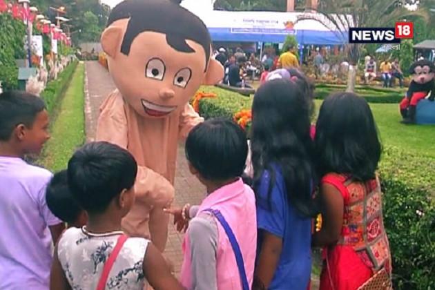 শিলিগুড়ির সূর্যনগর পার্কে কিডস কার্নিভাল