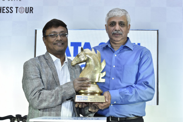 Dibyendu Barua, Indian Chess Grandmaster, Chanakya Chaudhary, Vice President, Corporate Services, Tata Steel