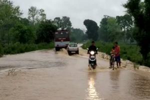 ভুটান পাহাড় ও ডুয়ার্সে প্রবল বৃষ্টি, জলমগ্ন বিস্তীর্ণ এলাকা