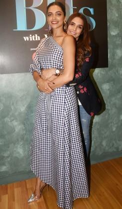 Deepika-Padukone-with-her-sister-Anisha-Padukone-with-Neha-Dhupia-for-BFFs-16