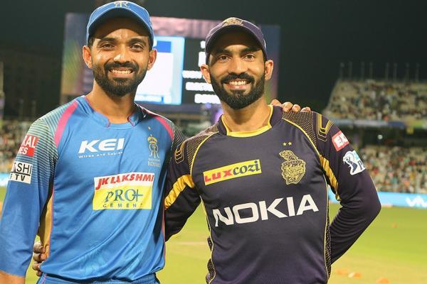 IPL 2018 Live Cricket Score, KKR vs RR, Eliminator: অবশেষে আউট রাহানে !
