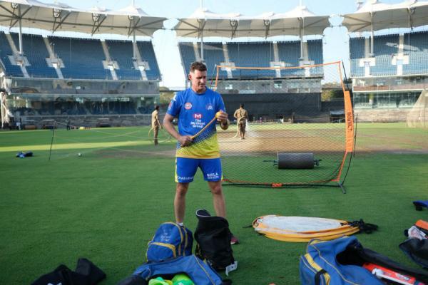 #IPL2019:  CSK বনাম RCB  টক্করের জন্য চূড়ান্ত প্রস্তুতিতে ব্যস্ত ক্রিকেটাররা